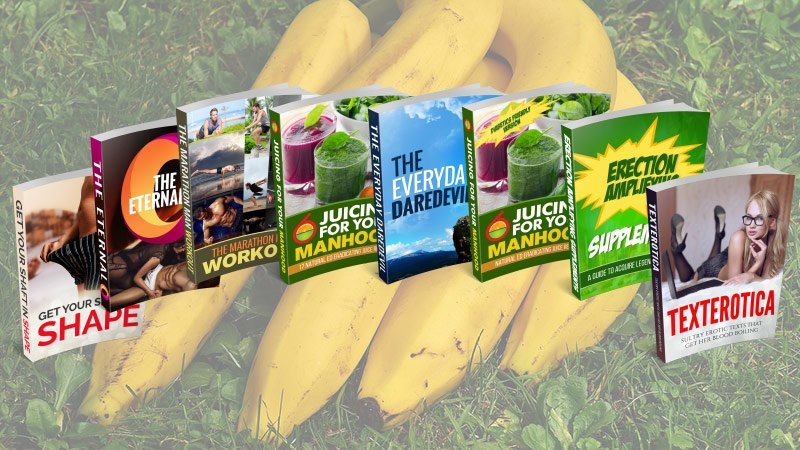Juicing For Your Manhood ED Edition: 1 of the Juicing For Your Manhood Products