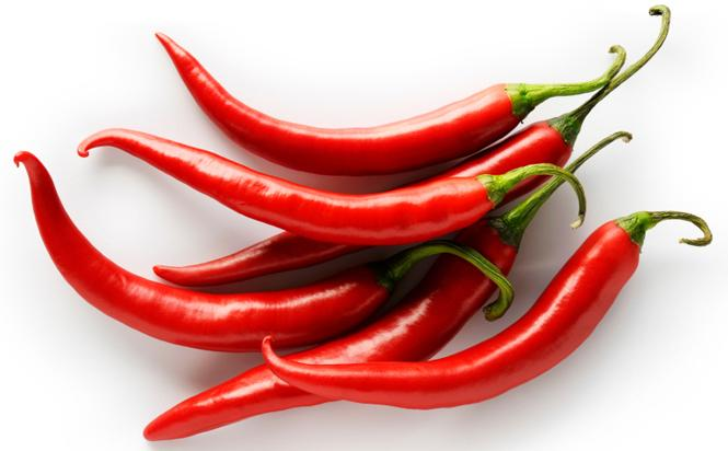 red hot chili peppers to increase metabolism