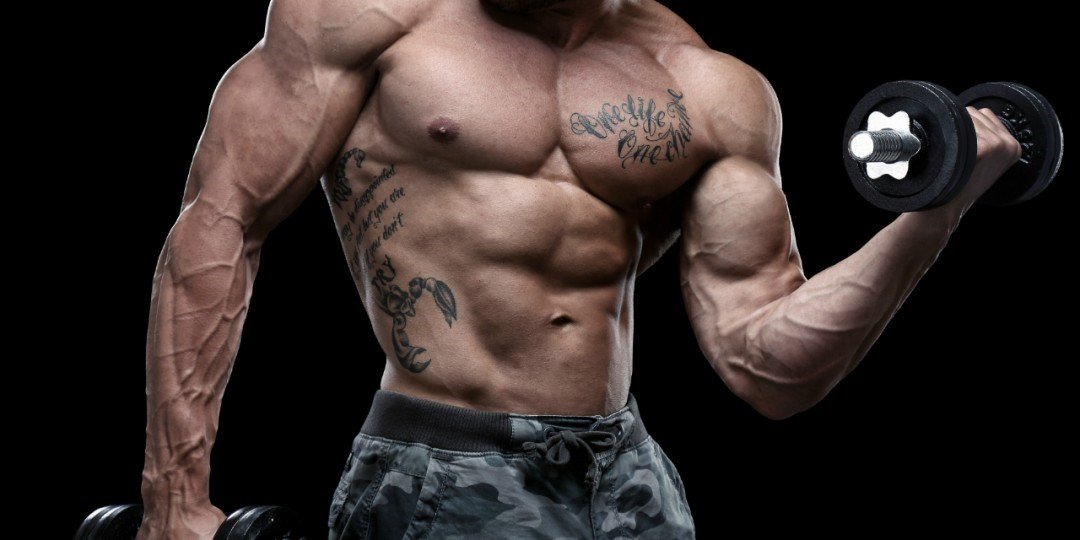 A man eating a lot of testosterone boosting recipes