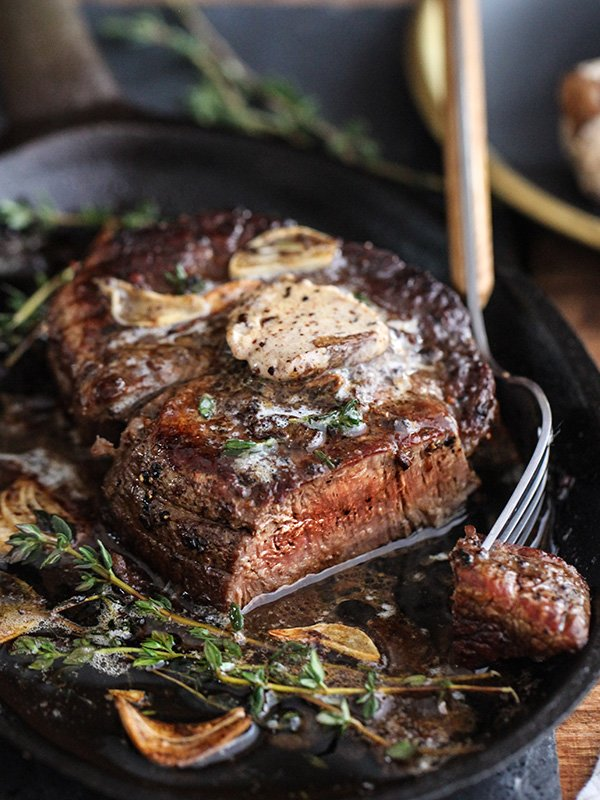 filet mignon with porcini mushroom butter is one of the testosterone boosting recipes